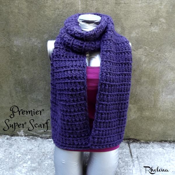 Premier Super Scarf Crochetncrafts