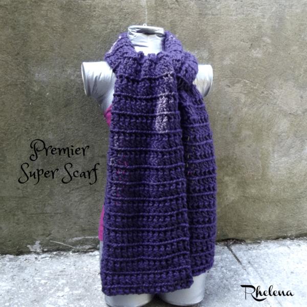 Premier Super Scarf ~ FREE Crochet Pattern