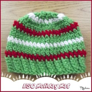ESC Holiday Hat ~ FREE Crochet Pattern