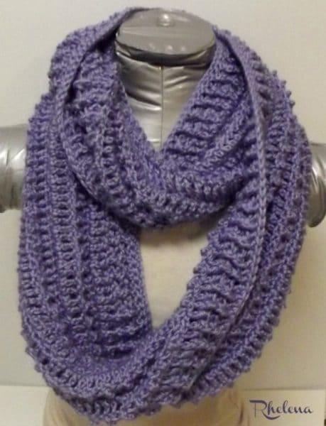 Simple Triple Crochet Cowl