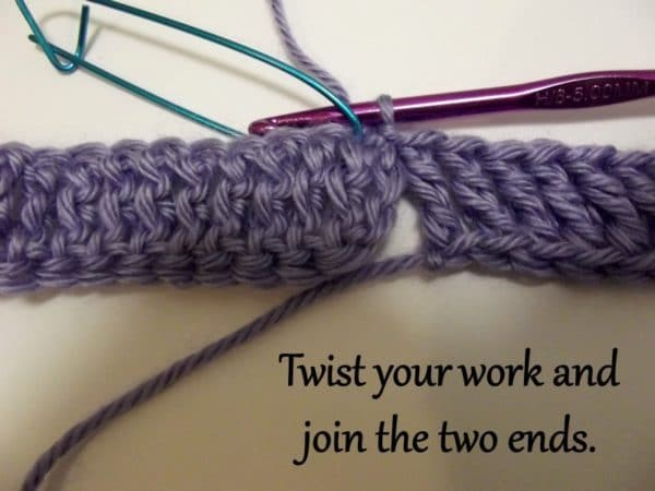Simple Triple Crochet Cowl ~ Tutorial