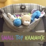 Small Toy Hammock ~ FREE Crochet Pattern