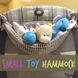 Small Toy Hammock ~ FREE Crochet Pattern