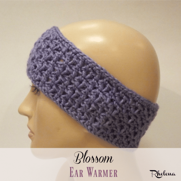 Free Crochet Ear Warmer Patterns For Adults : Blossom Ear Warmer - CrochetNCrafts