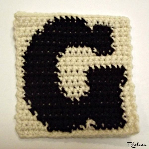 G - Uppercase Tapestry Block ~ FREE Crochet Pattern