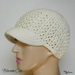 Blossom Cap ~ FREE Crochet Pattern