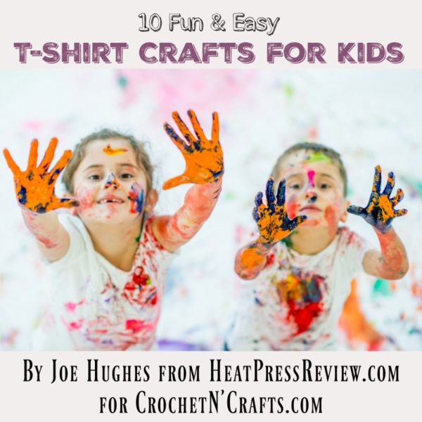 10 Fun & Easy T-Shirt Crafts for Kids