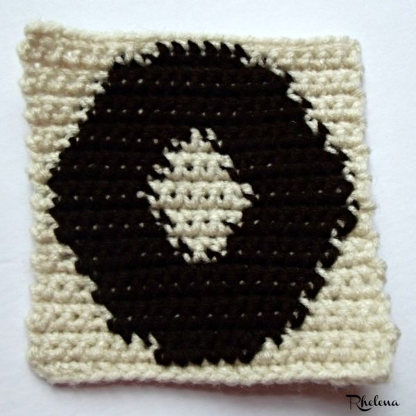 O - Uppercase Tapestry Block ~ FREE Crochet Pattern