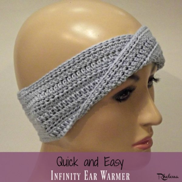 Quick and Easy Infinity Ear Warmer ~ FREE Crochet Pattern