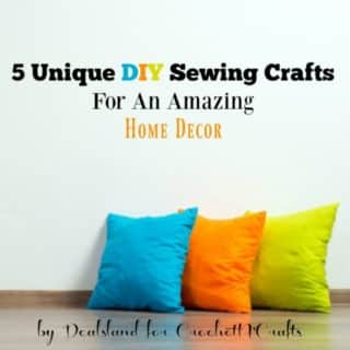 5 Unique DIY Sewing Crafts For An Amazing Home Decor by Dealsland