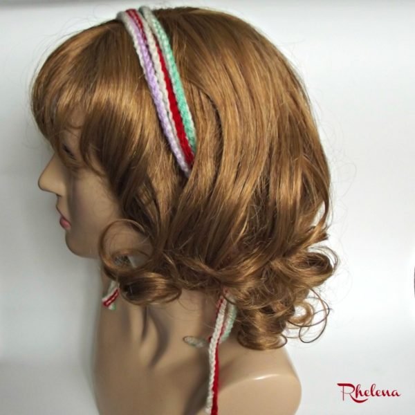 Simple Corded Headband with a Twist