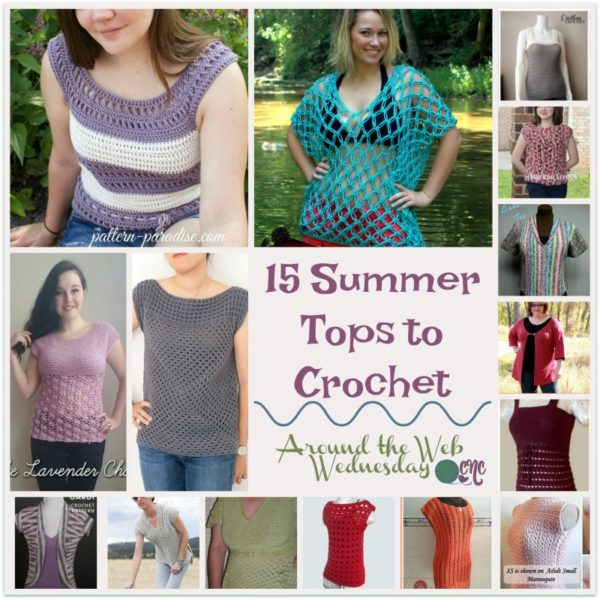 15 Summer Tops To Crochet Free Crochet Patterns Crochetncrafts