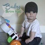 Baby Brim Hat ~ FREE Crochet Pattern