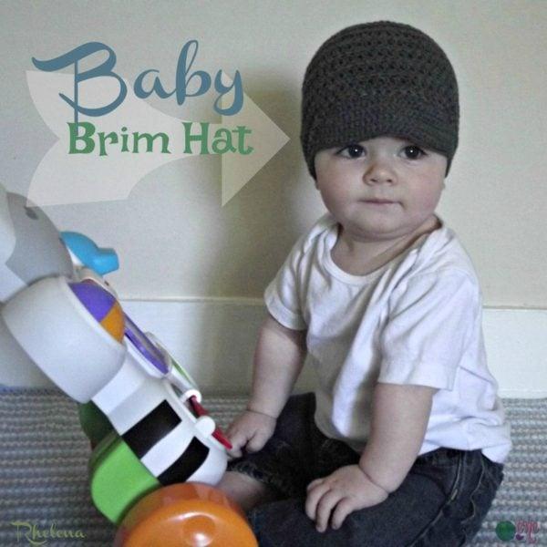 Baby Brim Hat Crochetncrafts