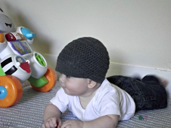 Baby Brim Hat Sideview