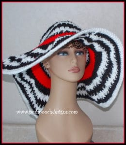 Kentucky Lady Hat by Posh Pooch Designs