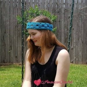Fashion Arch Headband by American Crochet
