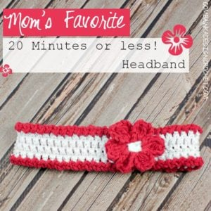 Mom's Favorite 20 Minutes or Less Headband by Oombawka Design
