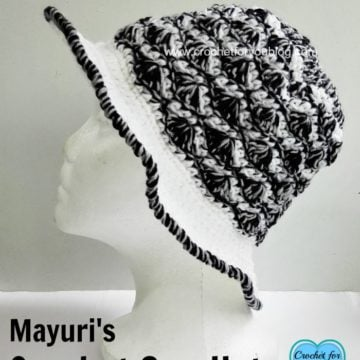 Mayuri's Crochet Sun Hat by Crochet For You