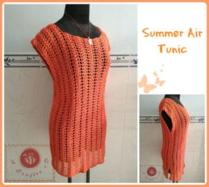 Summer Air Tunic by Maz Kwok's Designs