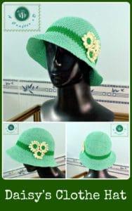 Daisy's Cloche Hat by Maz Kwok's Designs