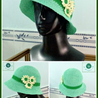 Daisy's Cloche Hat by Maz Kwok's Designs