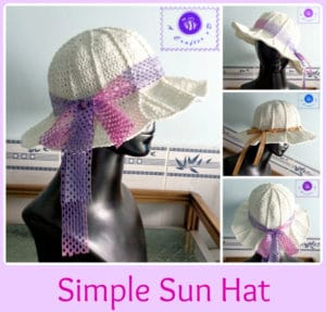 Simple Sun Hat by Maz Kwok's Designs