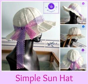 Simple Sun Hat by Maz Kwok's Designs