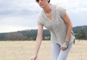 "The ""Topcho"" Easy Crochet Shirt by Mama In A Stitch"