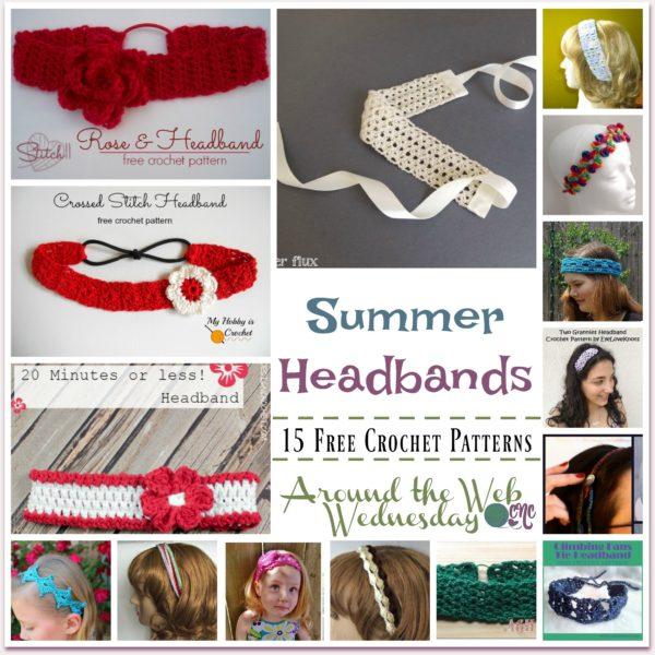 Crochet Summer Headbands Crochetncrafts