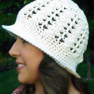 Sunshine and Shells Hat by Beatrice Ryan Designs
