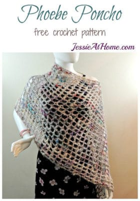 Phoebe Poncho by Jessie At Home