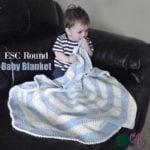 ESC Round Baby Blanket