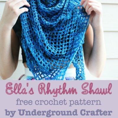 Ella's Rhythm Shawl