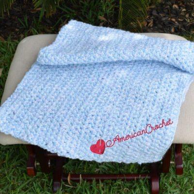 Flutterby Baby Blanket by American Crochet