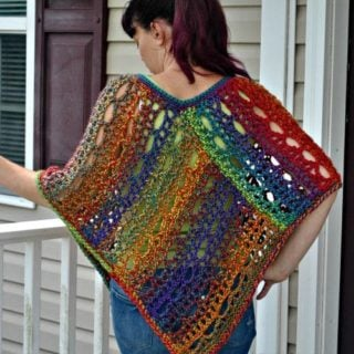 Unique Lace Poncho by Cre8tion Crochet