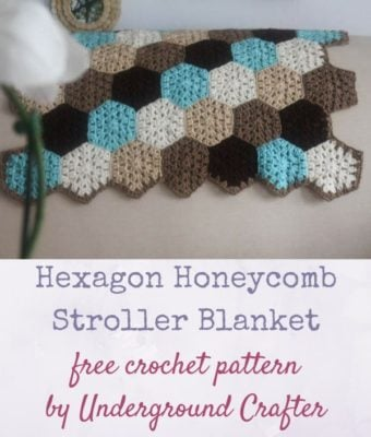 http://undergroundcrafter.com/blog/2017/02/03/free-pattern-hexagon-honeycomb-stroller-blanket/