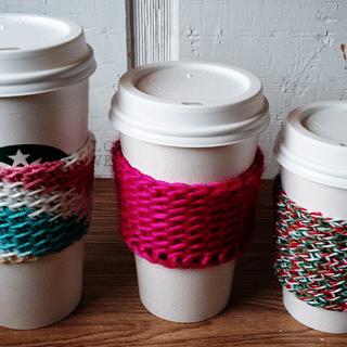 Crocheted Coffee Sleeves