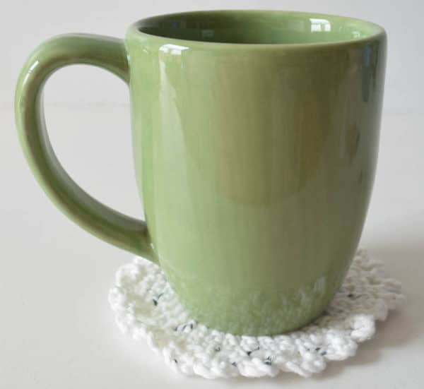 Little Dots Coaster Free Crochet Pattern by Underground Crafter for CrochetNCrafts