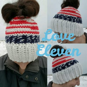 Linden Messy Bun Hat
