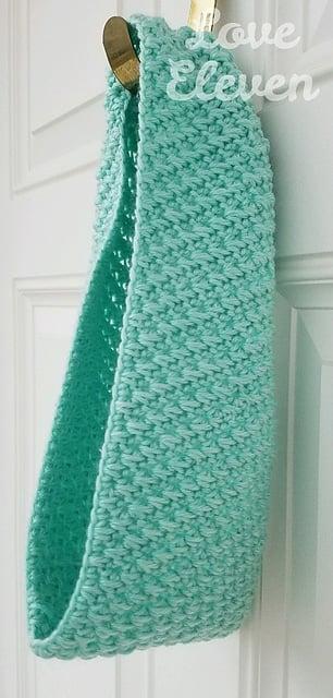Crocheted Heron Cowl