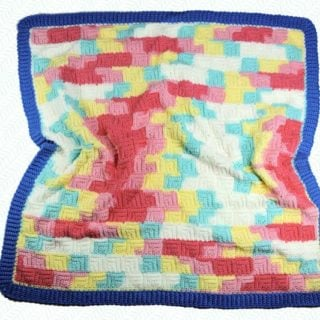 Patchwork Baby Blanket by CrochetKim