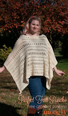 Perfect Fall Poncho by Moogly