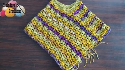 Winsome Poncho by Meladora's Creations