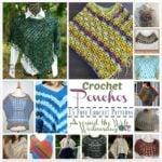 Summer Ponchos ~ 15 FREE Crochet Patterns