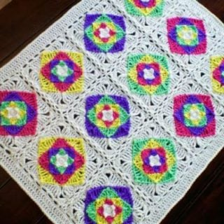 Optical Illusion Baby Blanket by Stitch11