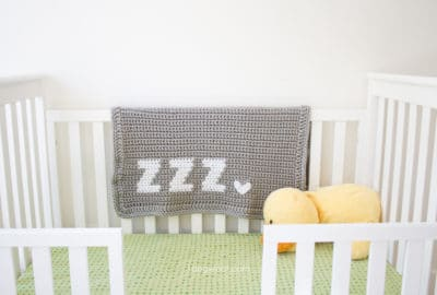 Get Some ZZZ's Baby Blanket by One Dog Woof