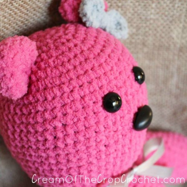 My First Teddy Bear Amigurumi by Cream Of The Crop Crochet