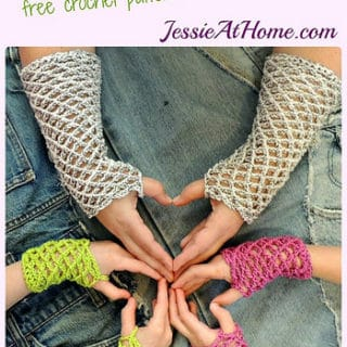 Netties Super Simple Mitts by Jessie At Home