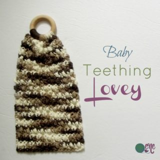 Baby Teething Lovey ~ FREE Crochet Pattern